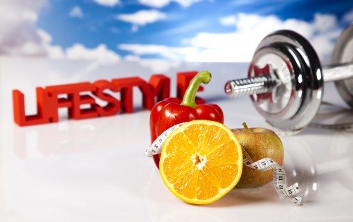 Health and weight loss stock photography theme