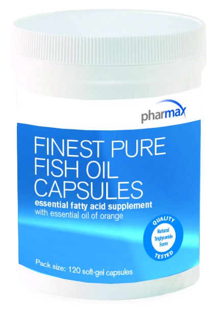Finest pure fish oil capsules by pharmax new step by step for Pharmax fish oil